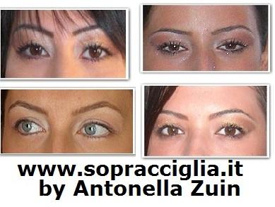 sopracciglia by antonella zuin