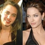 Foto di Angelina Jolie da giovane e foto Angelina Jolie da adulta