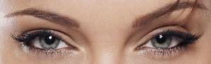Occhi e sopracciglia Angelina Jolie